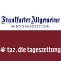 Logo FAS und taz