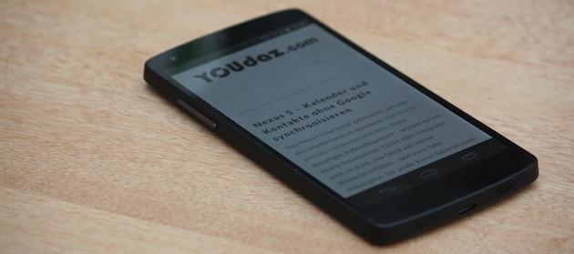 Das Nexus 5 im Bild